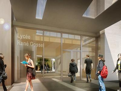 Extension du Lycée René Gosse Lien vers: ReneGosse