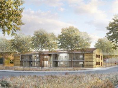 Construction de 12 logements collectifs BBC à Montarnaud Lien vers: MontarnaudBBC
